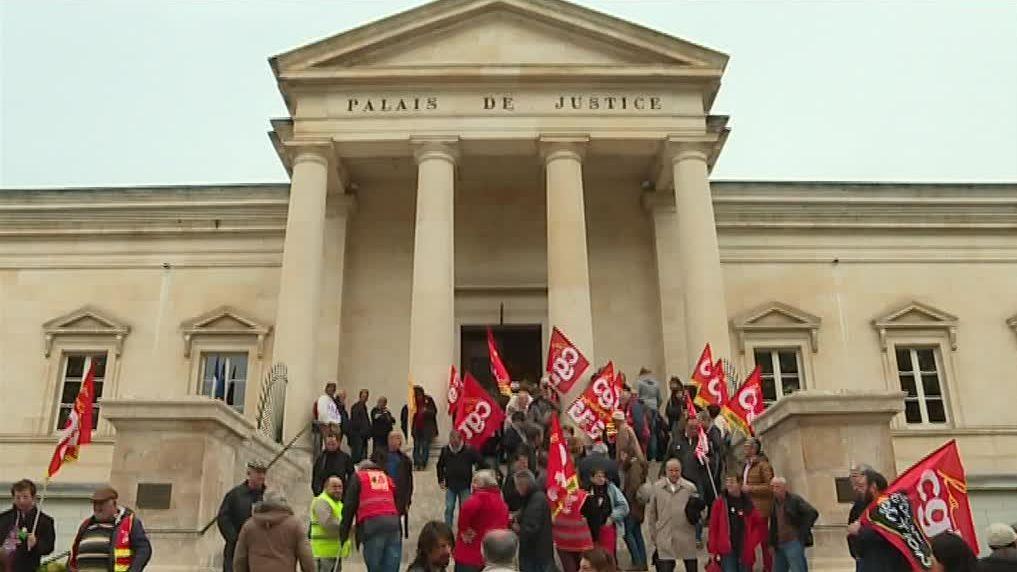 Au palais de justice de Cahors