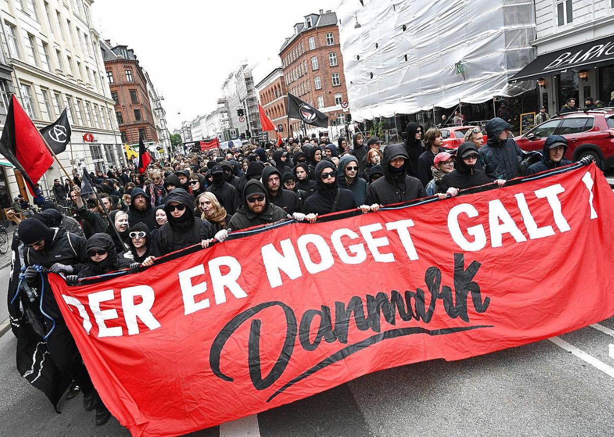 Le premier mai révolutionnaire à Copenhague