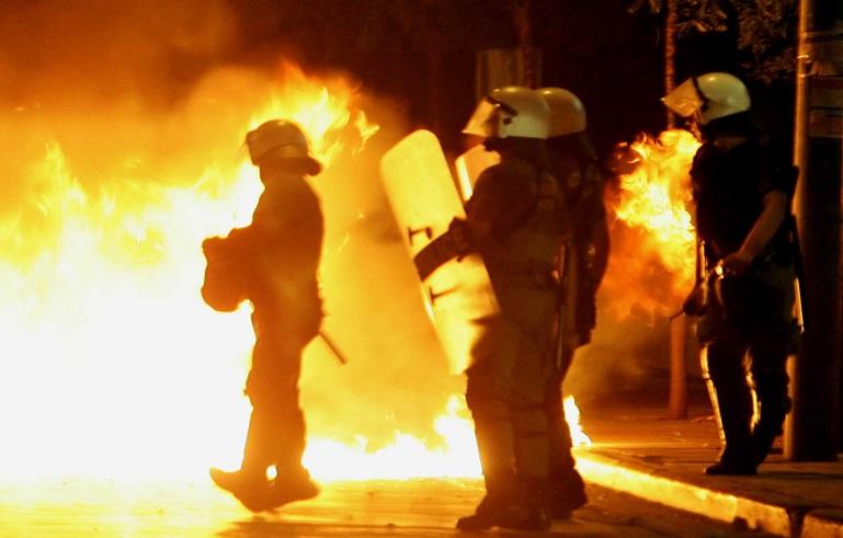 Affrontements à Exarchia