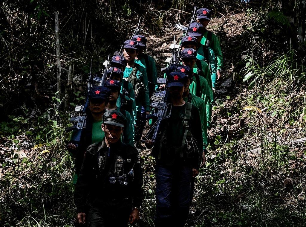 Combattants maoïstes
