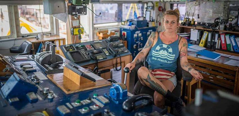Pia Klemp Sea Watch