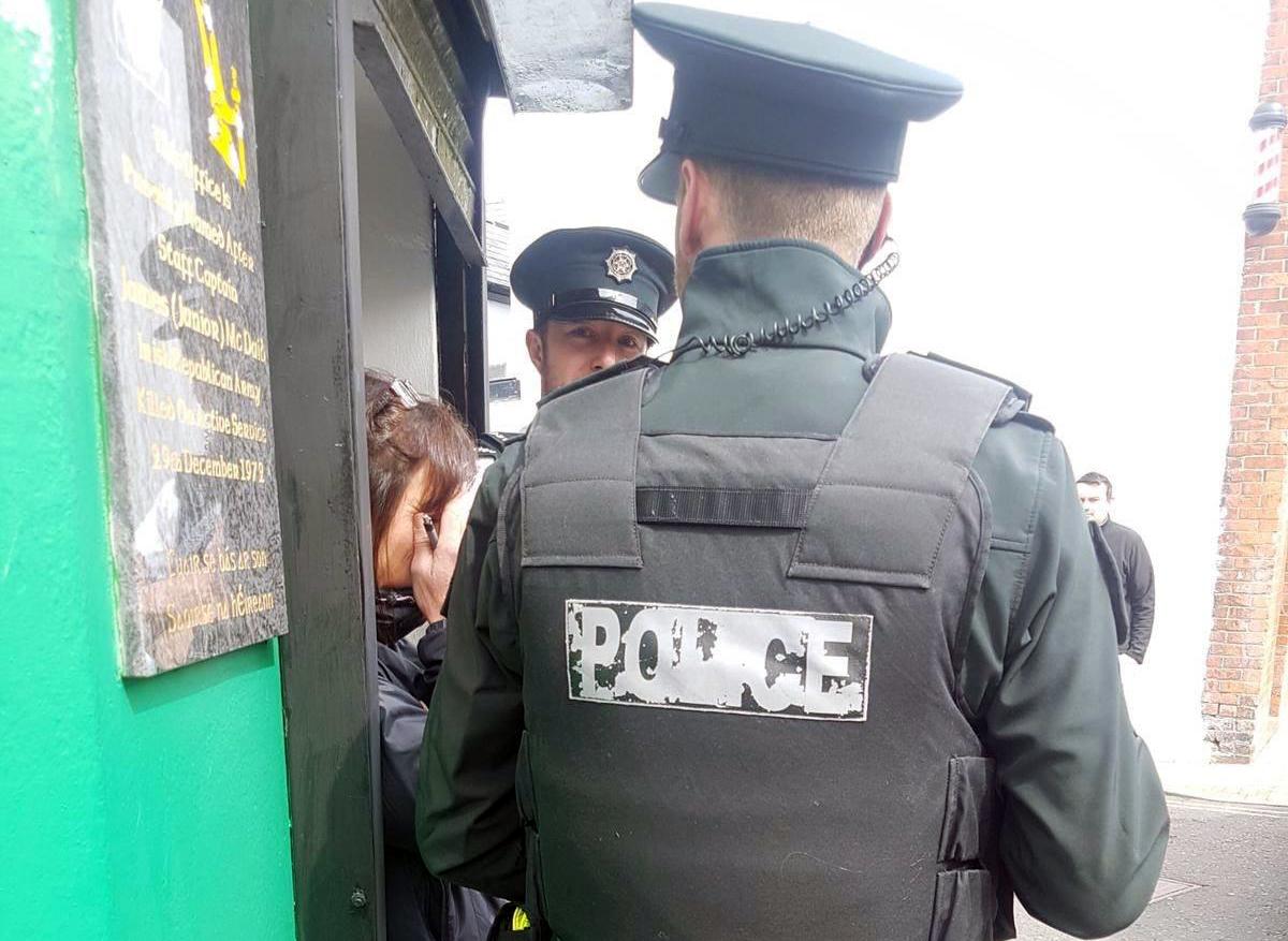 Opération policière à Derry