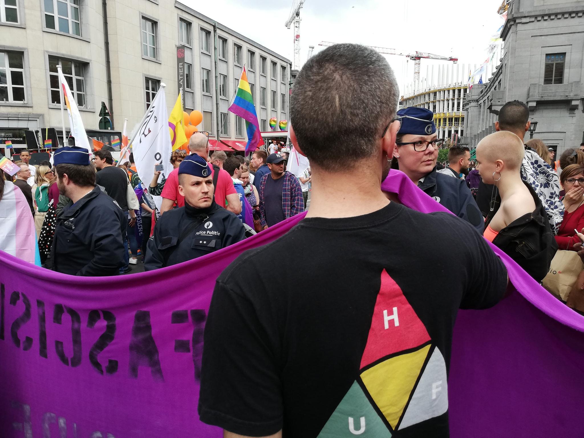 Répression policière de Reclaim the Pride