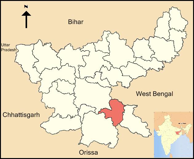 District de Sarikela-Kharsawan