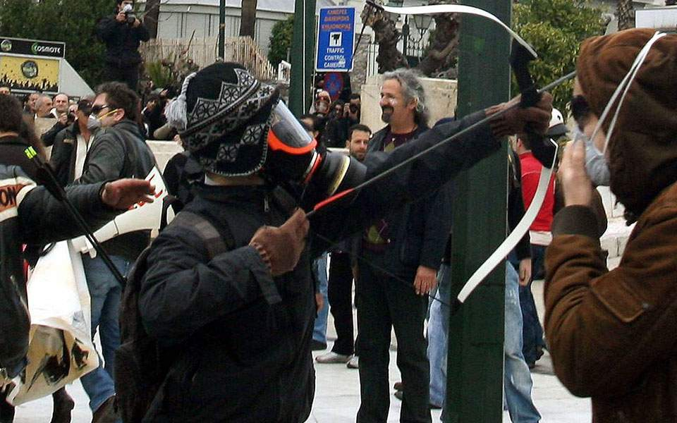 L'archer de la place Syntagma