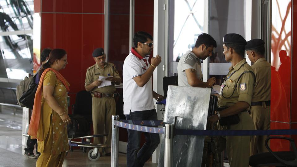 Sécurité aéroportuaire en Inde