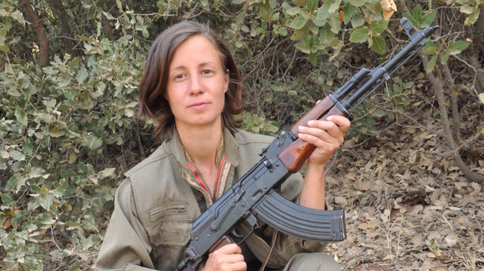 Sara Dorsin, commandante dans les YJA-STAR