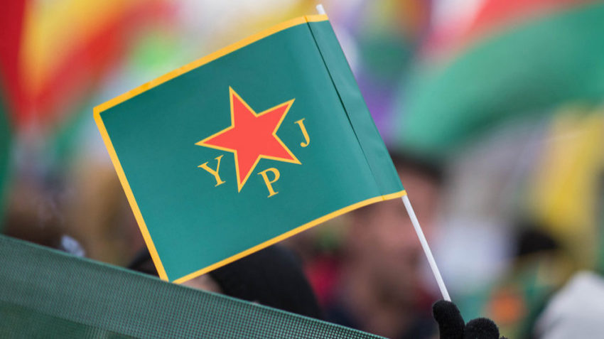 YPJ drapeau