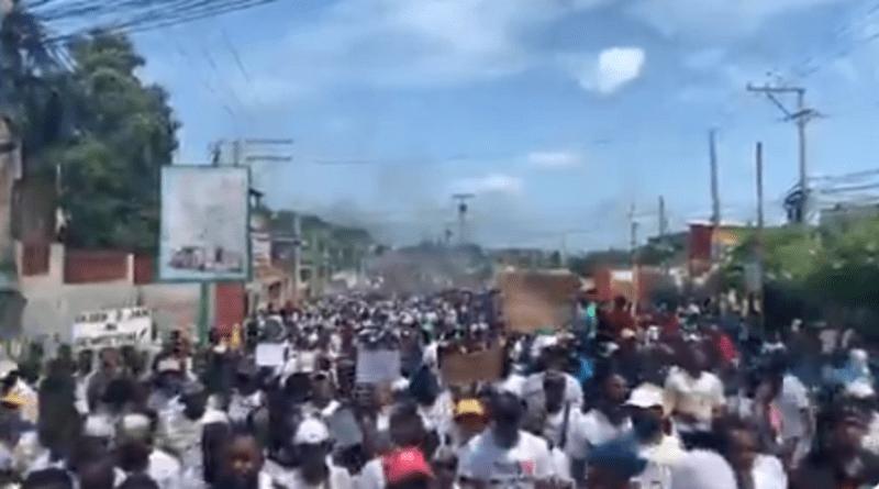 Les manifestations de ce dimanche à Haïti