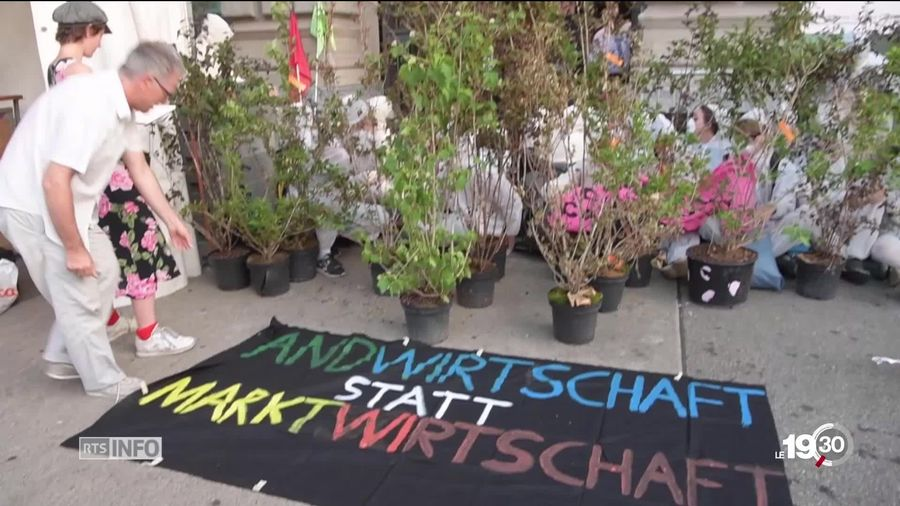 Un des sit-in à Zurich