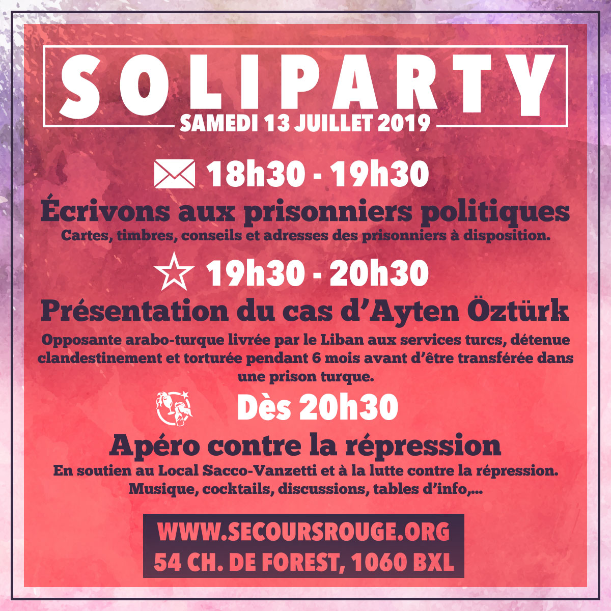 Soliparty 13 juillet