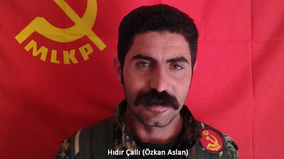 Hıdır Çallı combattant MLKP tombé en martyr le 10 juillet 2019