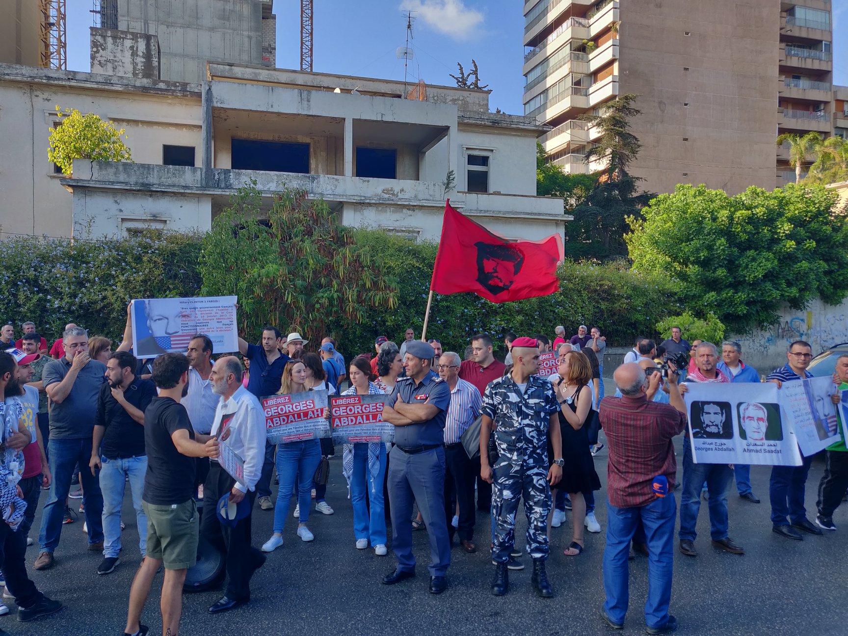 Manifestants ce dimanche à Beyrouth