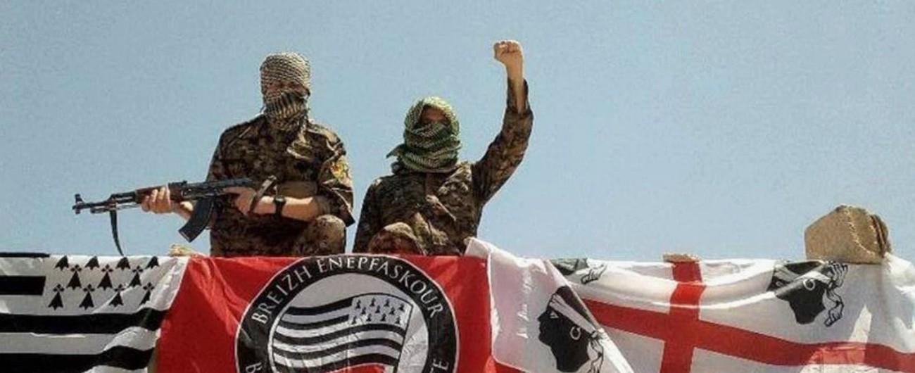 Internationalistes breton et sarde au Rojava