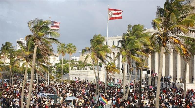 La manifestation de lundi à San Juan