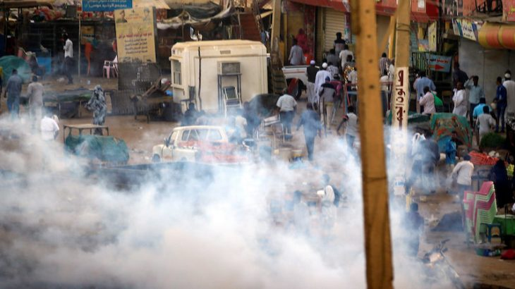 Lacrymogènes ce lundi à Al-Obeid