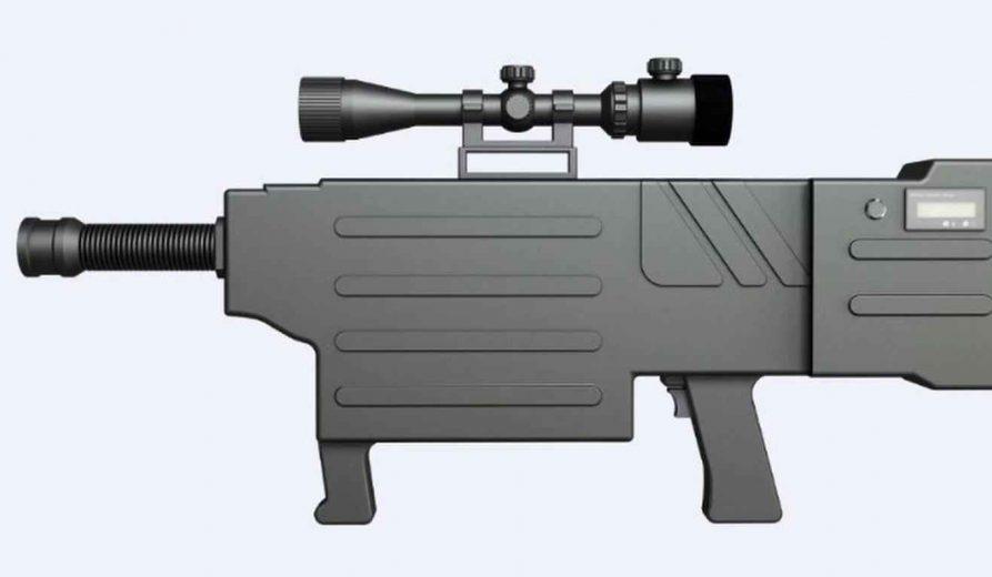 Un prototype de Fusil Laser
