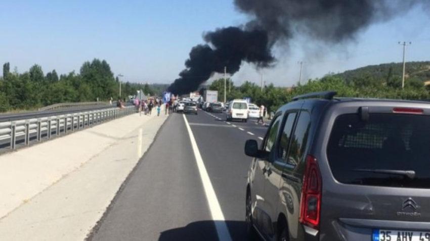 Attaque du HBDH contre un convoi militaire à Konya