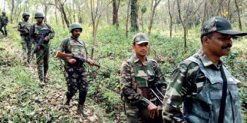 Opération anti-guérilla en Inde (archive)