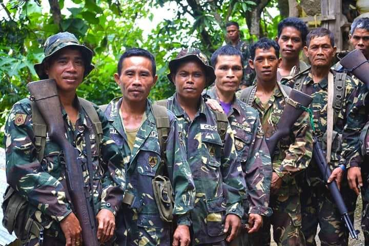 Paramilitaires du CAFGU