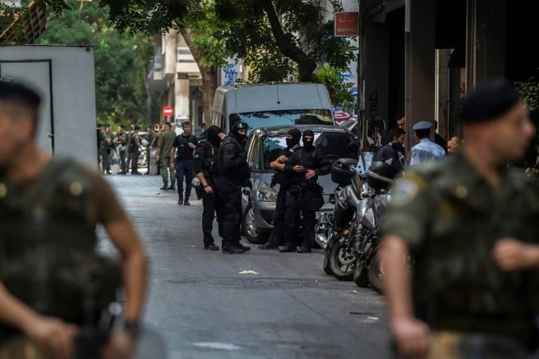 L'opération policière à Exarchia