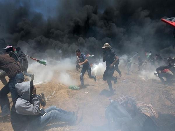 Manifestation à la Gaza (archive)