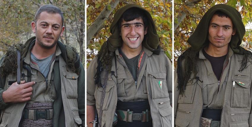 Combattants du HPG, la guérilla du PKK