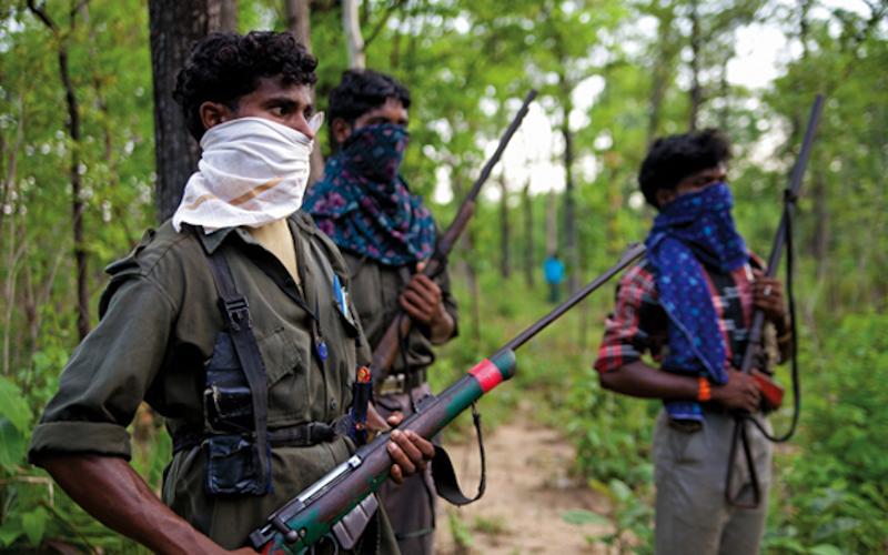 guérilleros maoïstes (archive)