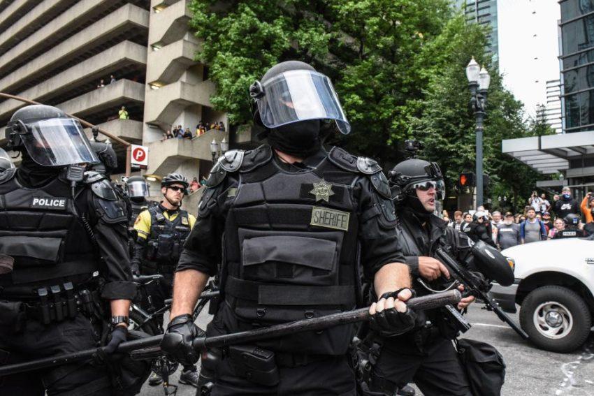 Lem déploiement policier à Portland samedi