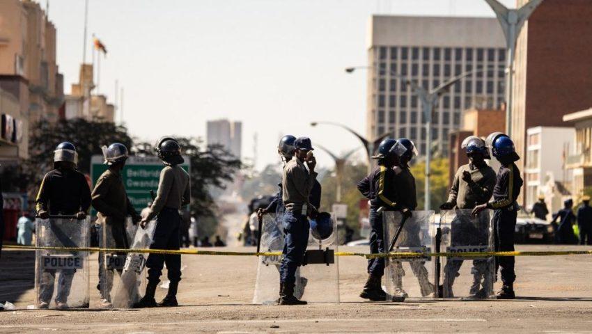 Déployement policier au Zimbabwe