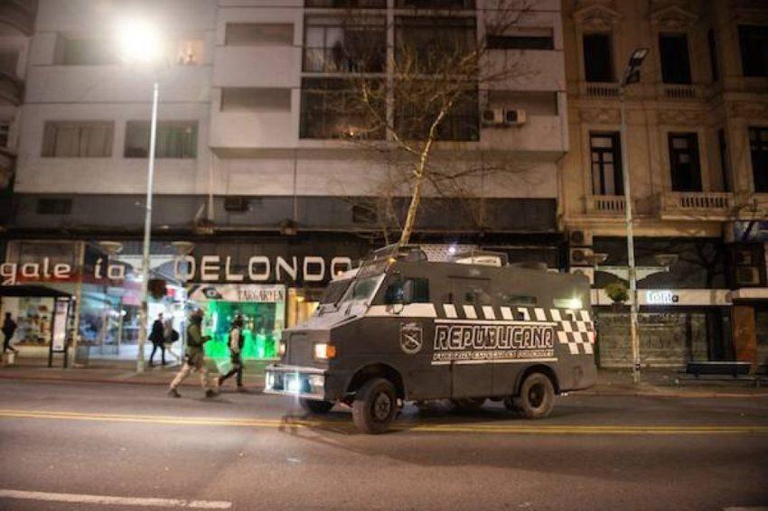 Déploiement policier jeudi à Montevideo