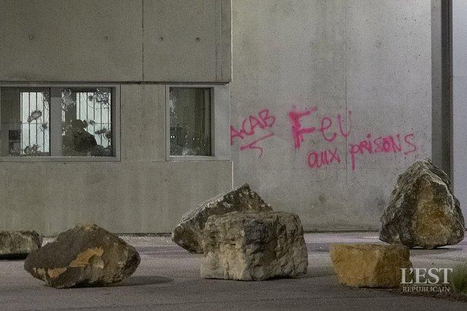 Attaque de la prison de Nancy-Maxéville par un groupe anticarcéral