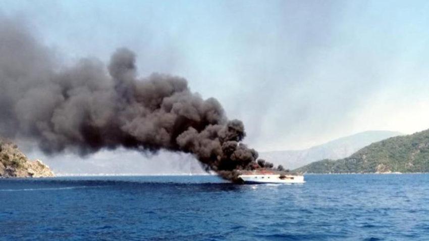 Le yacht de luxe coulé par le HBDH