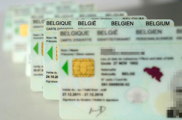 cartes d'identité belges