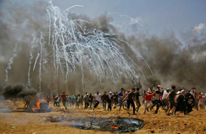 Manifestation à la frontière de Gaza (archive)