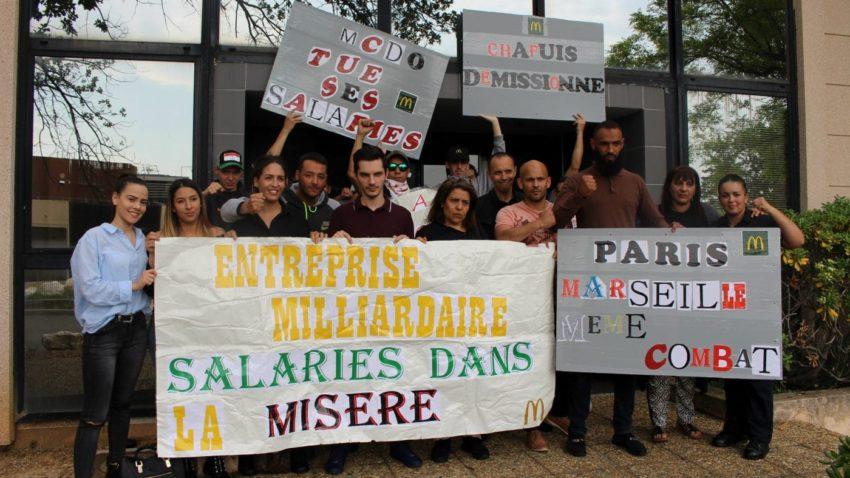 Grève chez McDo à Marseille (archive)