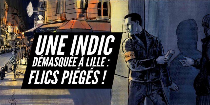 France une indicatrice démasquée à Lille