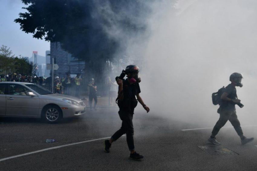 Les derniers affrontements à Hong-Kong