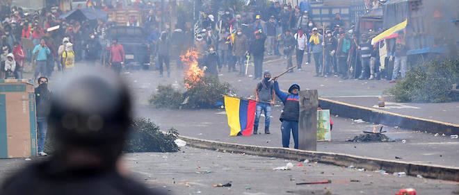 manifestation et état d'exception en Equateur