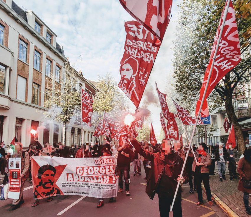 La manifestation de Lille