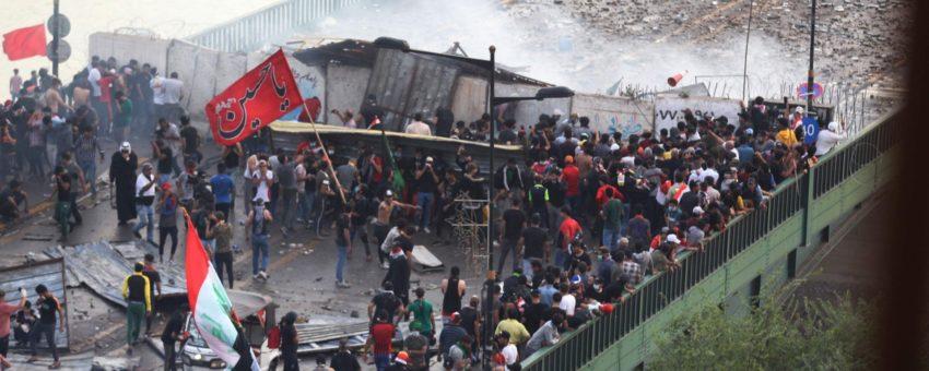 Au moins 300 manifestant·e·s tué·e·s depuis le début du mouvement en Irak