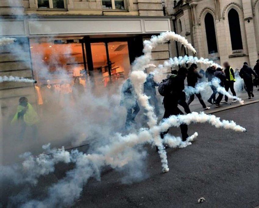 Gilets Jaunes - Acte 53 - manifestation à Nantes