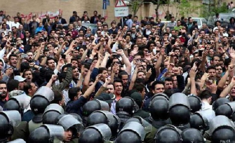 Soulevement en Iran - Novembre 2019