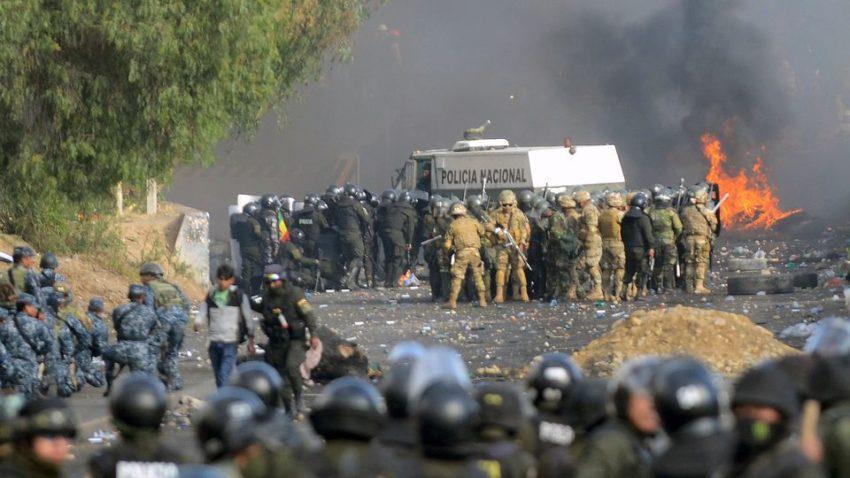 Affrontements à Cochabamba