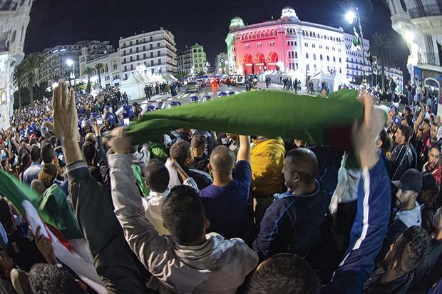 La manifestation de jeudi à Alger