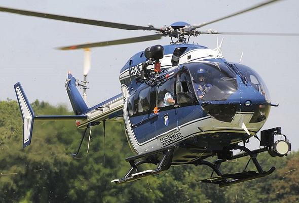 Hélicoptère de la gendarmerie française