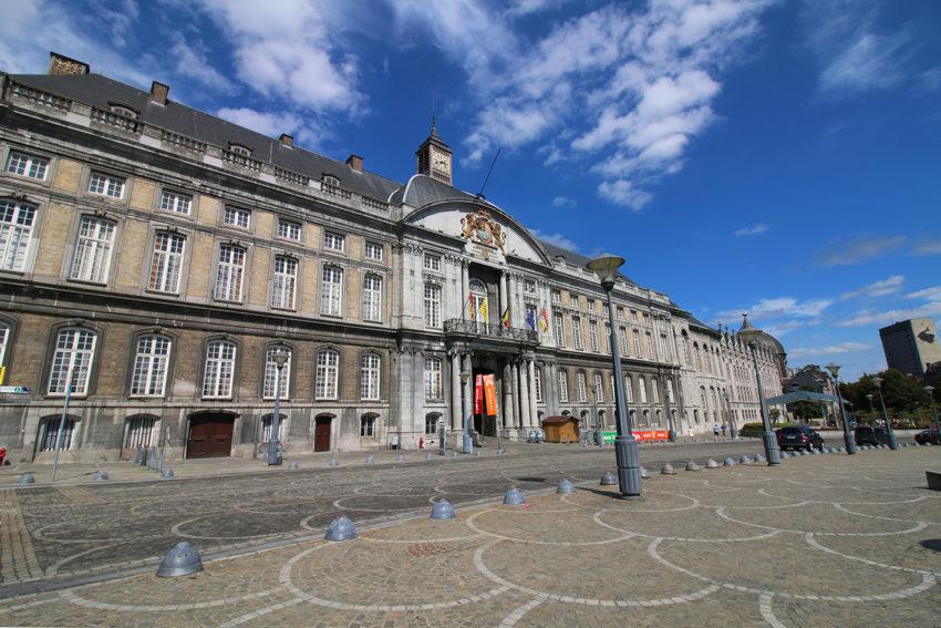 Le palais de justice de Liège