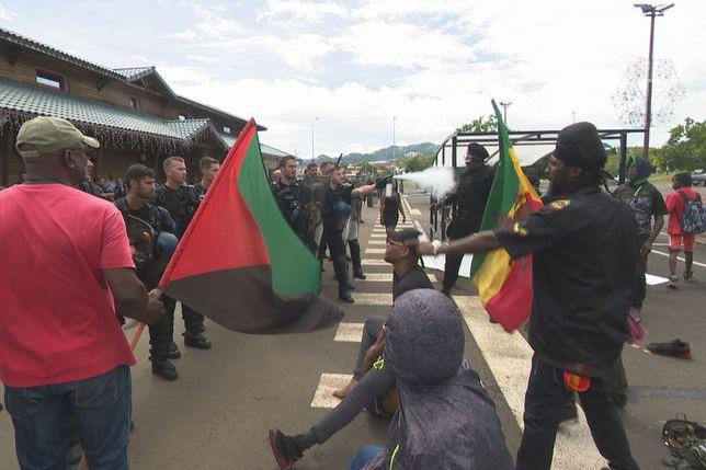 Les incidents à la Martinique ce samedi