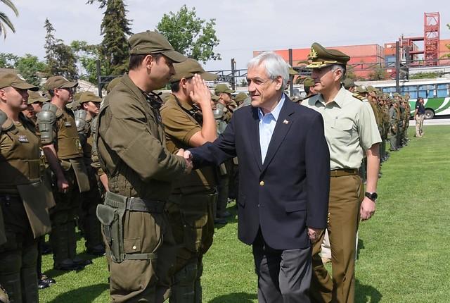 Le président du Chili Sebastián Piñera