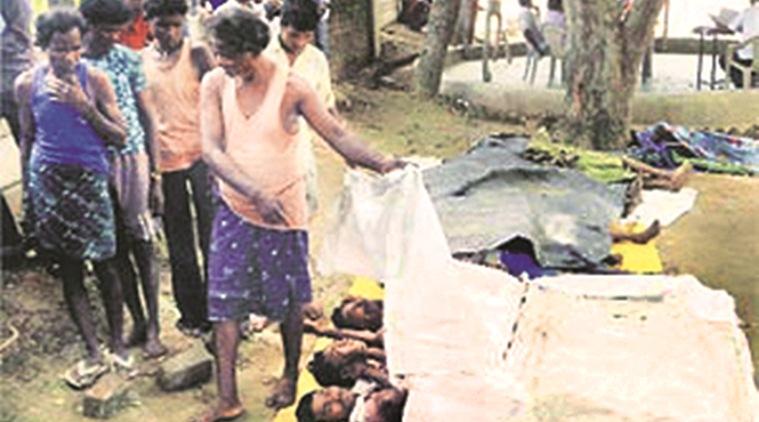 Le massacre de Sarkeguda